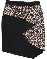 Anna Rachele Knee Length Skirt - Black