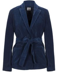 ..,merci Suit Jacket - Blue
