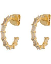 P D Paola Earrings - Metallic