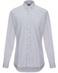 Grey Daniele Alessandrini Shirt - Multicolour