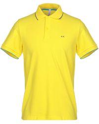 Sun 68 Polo Shirt - Yellow