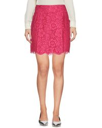 Valentino Mini Skirt - Pink