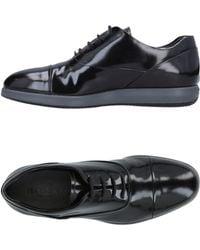 Hogan Lace-up Shoes - Black
