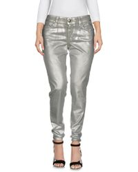 Hot Just Cavalli - Denim Trousers - Lyst d3a6065ec