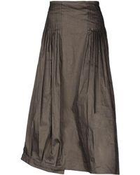 Malloni - Long Skirt - Lyst