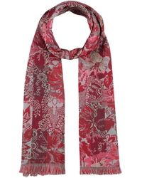 KENZO Oblong Scarf - Red