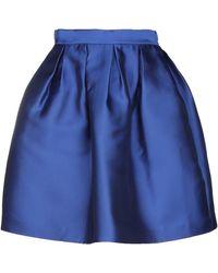 P.A.R.O.S.H. Knee Length Skirt - Blue