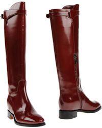Santoni Boots - Red