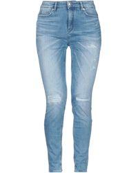 DRYKORN Denim Trousers - Blue