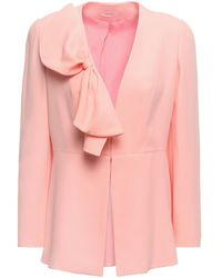Delpozo Suit Jacket - Pink