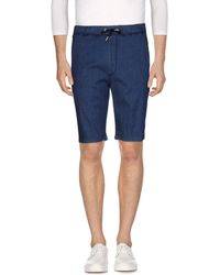 Obvious Basic - Denim Bermudas - Lyst