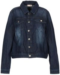 SCEE by TWINSET Denim Outerwear - Blue