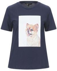Maje T-shirt - Blue