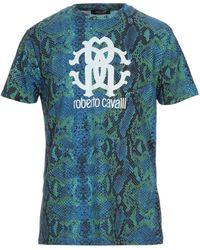 Roberto Cavalli - T-shirt - Lyst
