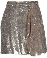 MÊME ROAD Mini Skirt - Metallic