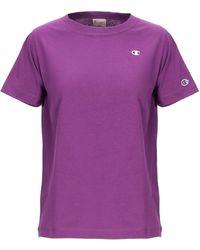 Champion T-shirt - Violet
