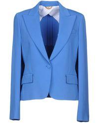 Fay Suit Jacket - Blue