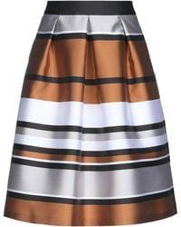 Blugirl Blumarine Midi Skirt - Brown