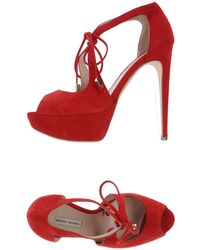 Gianni Marra Sandals - Red