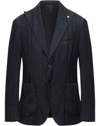 L.B.M. 1911 Suit Jacket - Blue