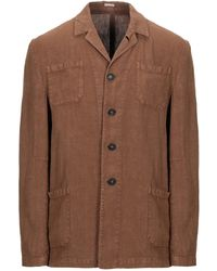 Massimo Alba Suit Jacket - Brown