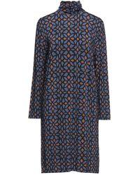 Siyu Midi Dress - Blue