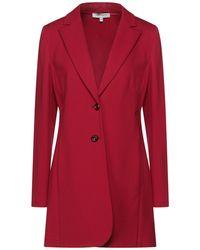 Angelo Marani Overcoat - Red
