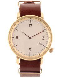 Komono Reloj de pulsera - Marrón