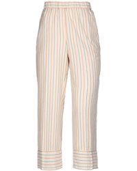 SCEE by TWINSET Trousers - Natural