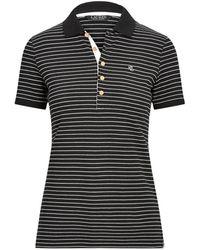 Lauren by Ralph Lauren Polo Shirt - Black