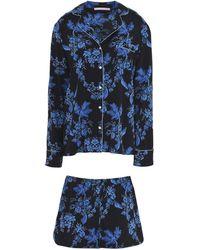 Stella McCartney - Poppy Snoozing Printed Stretch-silk Crepe De Chine Pyjama Set - Lyst