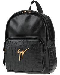 Giuseppe Zanotti Backpacks & Bum Bags - Black