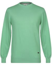Henry Cotton's Pullover - Verde