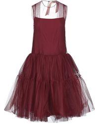 N°21 Knee-length Dress - Red