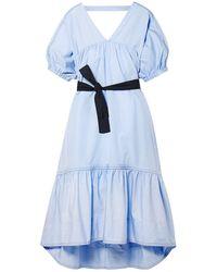 3.1 Phillip Lim Vestido midi - Azul