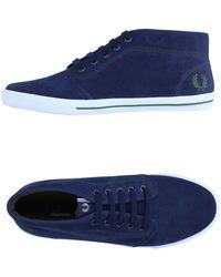 Fred Perry Sneakers abotinadas - Azul