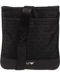 2164c9a90f0 Lyst - Armani Jeans Messenger Bag in Black for Men