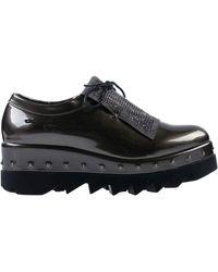 06 Milano Lace-up Shoe - Grey