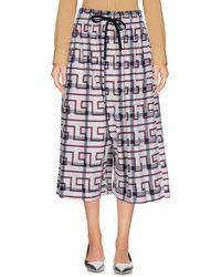 Vivienne Westwood Anglomania Pantalons courts - Blanc