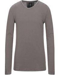 Thom Krom Camiseta - Gris