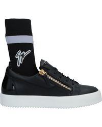 Giuseppe Zanotti Sneakers & Tennis shoes alte - Nero