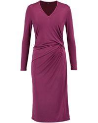 Raoul Knee-length Dress - Purple