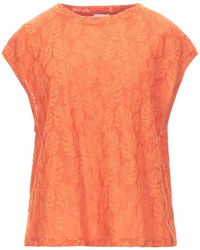 Attic And Barn T-shirt - Orange