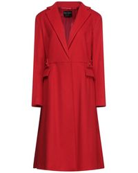 Fontana Couture Coat - Red