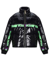 Gcds Synthetic Down Jacket - Black