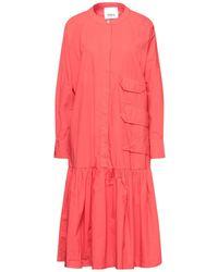 Erika Cavallini Semi Couture Midi Dress - Red