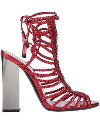 Trussardi Sandals - Red