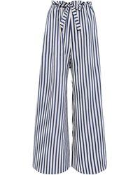 Paper London Pantalones - Azul