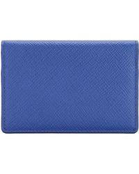 Smythson Wallet - Blue