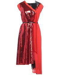Marc Jacobs Vestido midi - Rojo